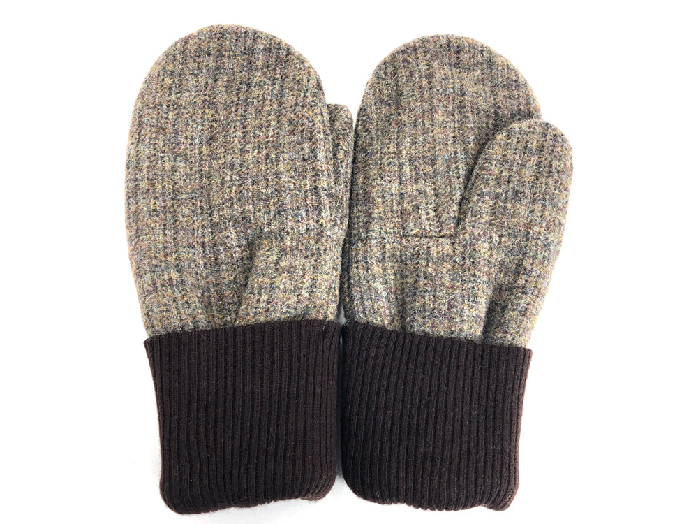 Brown Men's Wool Mittens - Large - 1789 - The Mitten Company