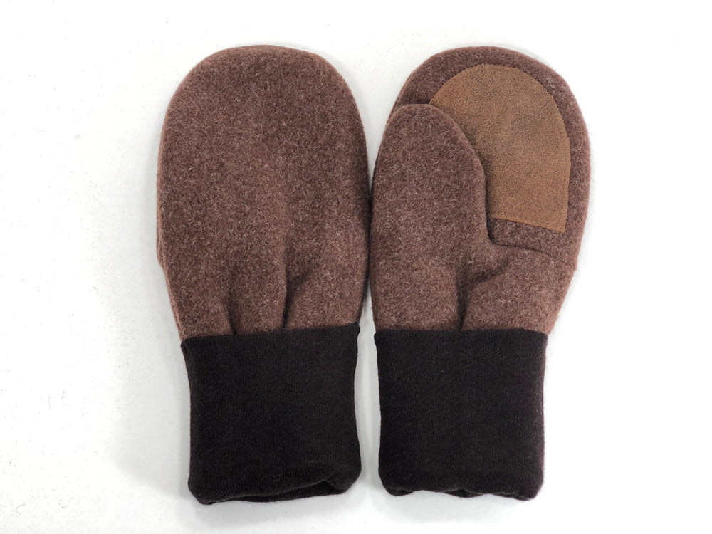 Brown Men's Wool Driver's Mittens - Large - 1795-Mens-The Mitten Company
