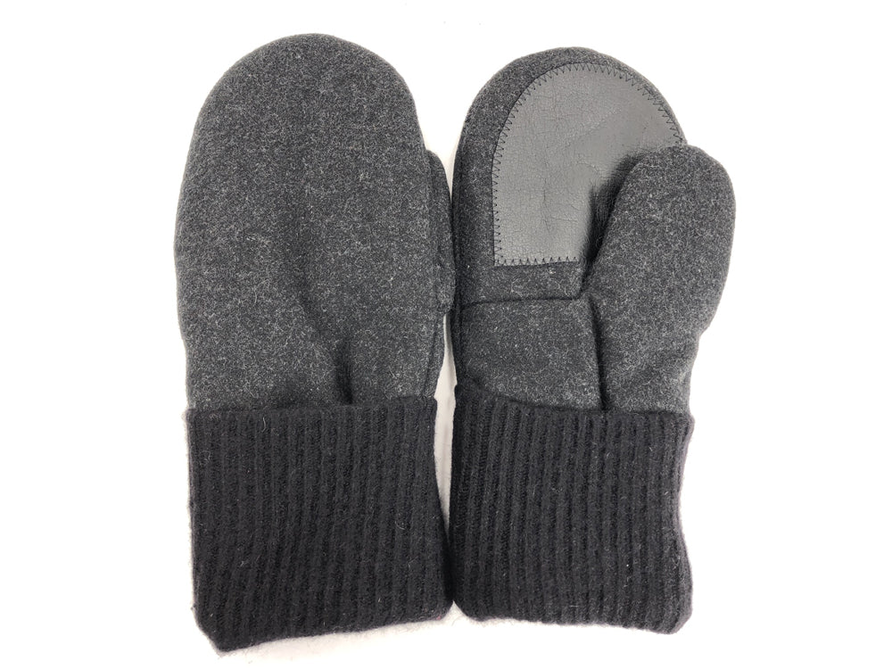 Black Men's Wool Driver's Mittens - Large - 1806 - The Mitten Company