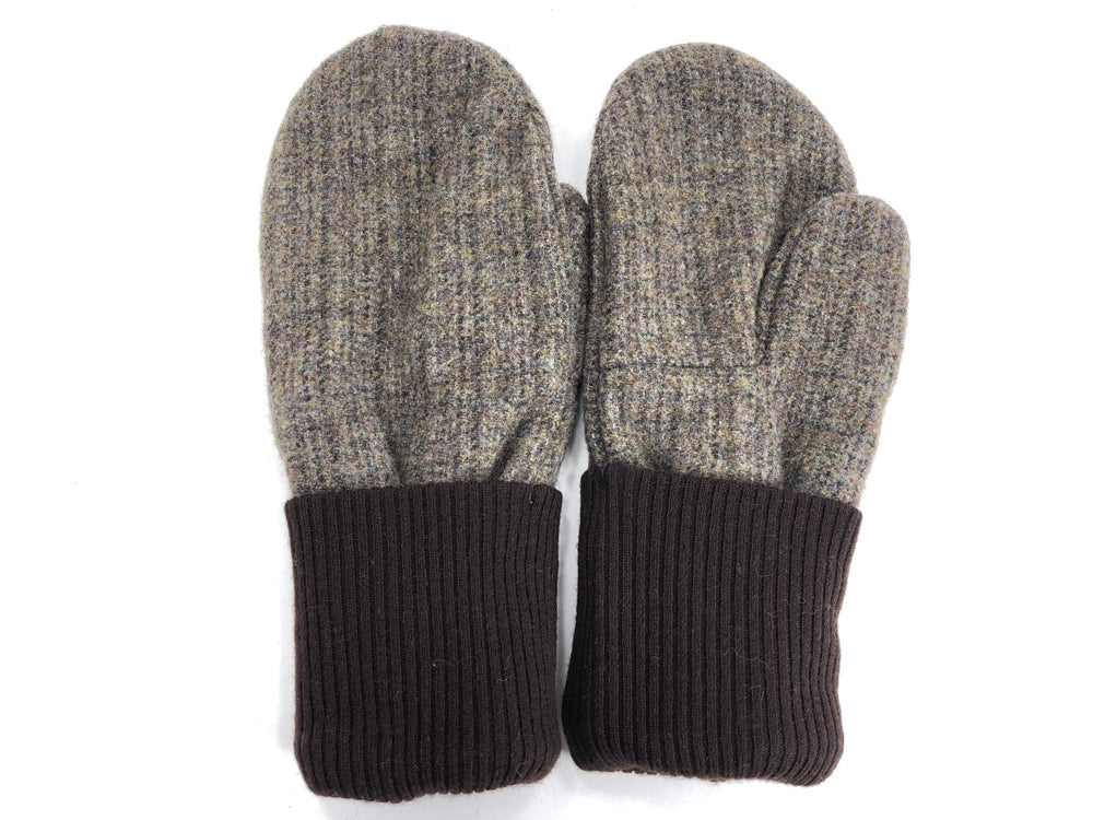 Brown Men's Wool Mittens - Large - 1815-Mens-The Mitten Company