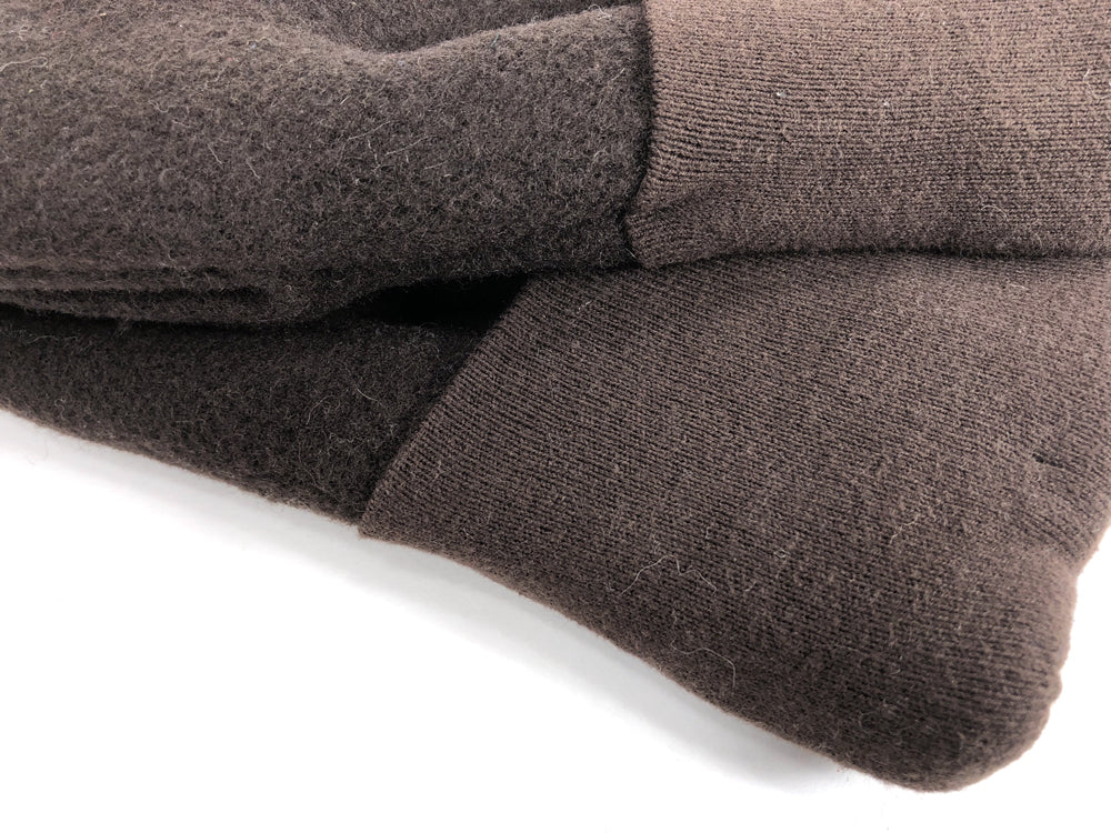 Brown Men's Wool Driver's Mittens - Large - 1819 - The Mitten Company