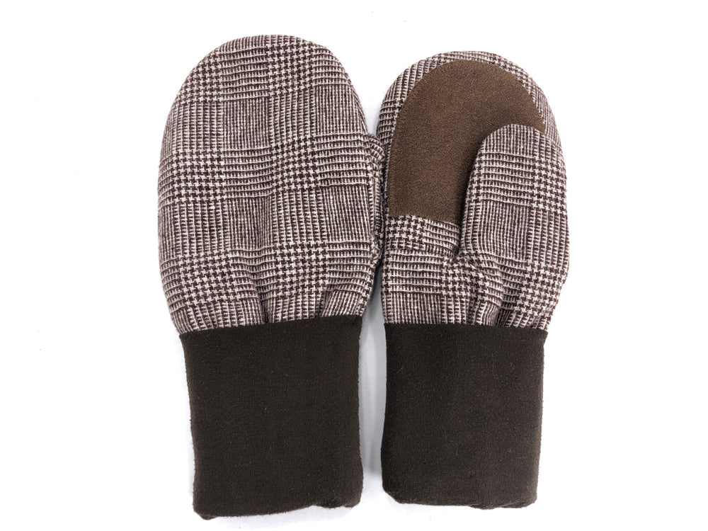 Brown Men's Wool Driver's Mittens - Large - 1822-Mens-The Mitten Company