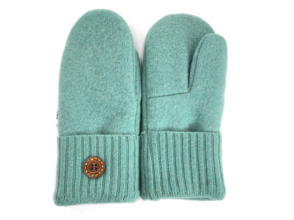 Blue Merino Wool Mittens - Small - 1860-Womens-The Mitten Company