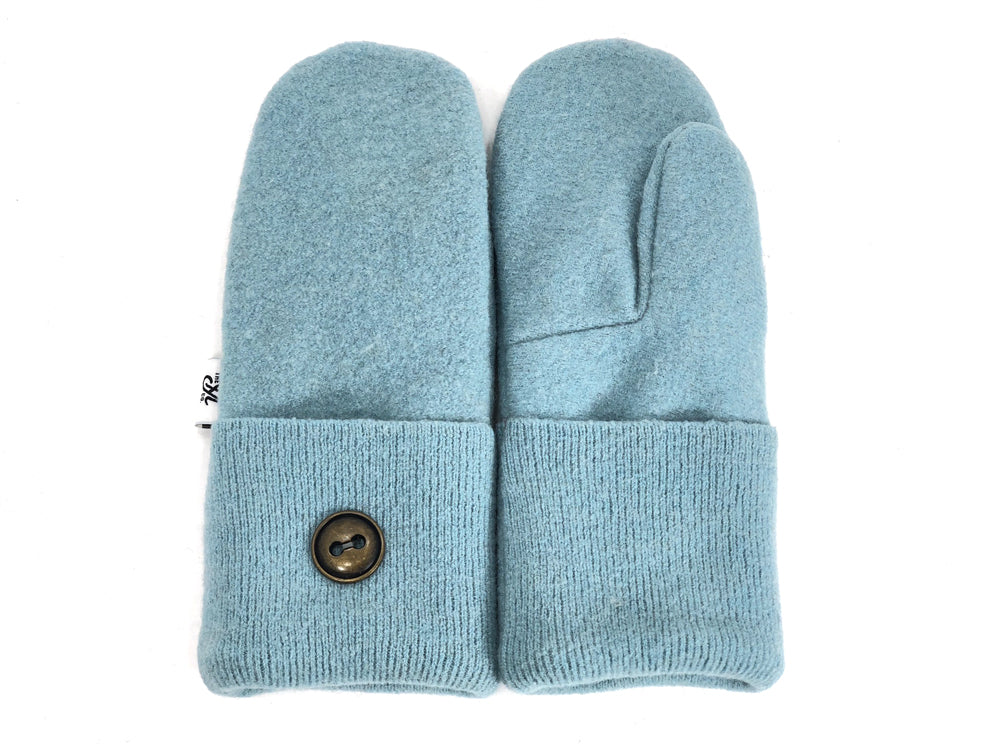 Blue Merino Wool Mittens - Small - 1863 - The Mitten Company