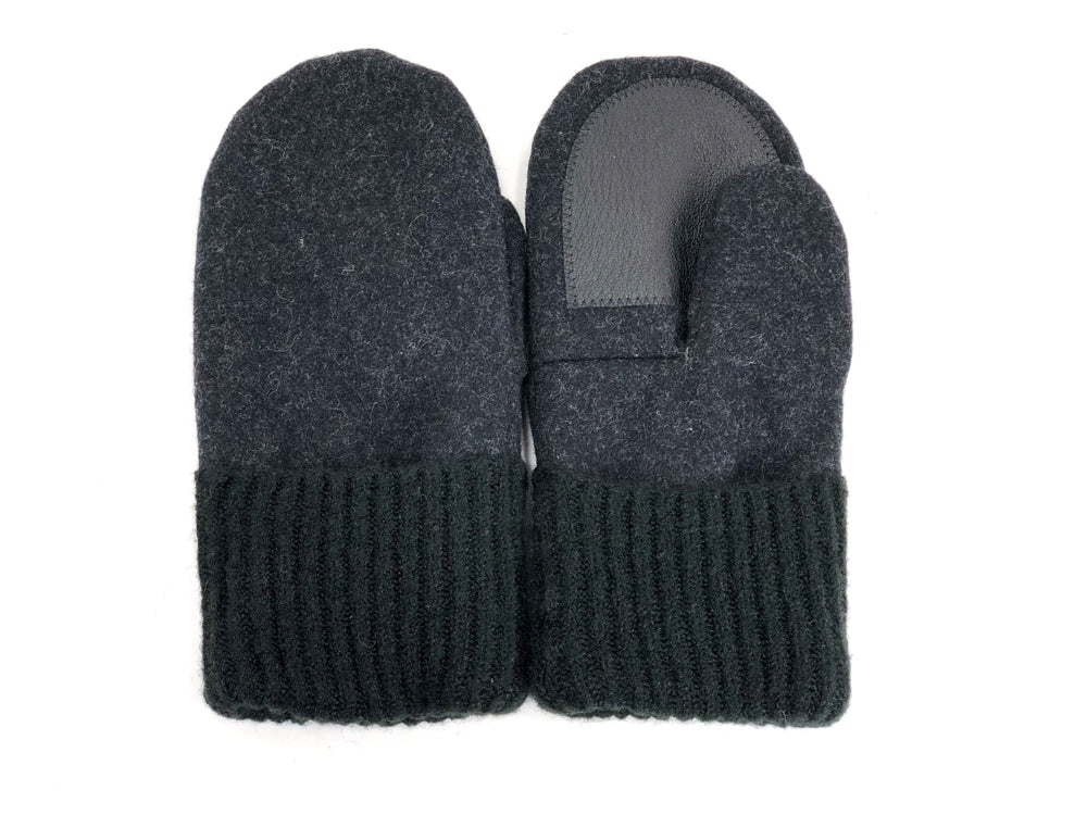 Gray-Green Men's Wool Driver's Mittens - Large - 1969-Mens-The Mitten Company