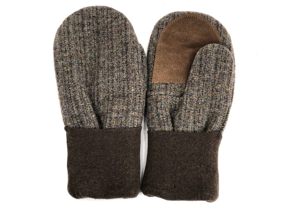 Brown Men's Wool Driver's Mittens - Large - 1973-Mens-The Mitten Company