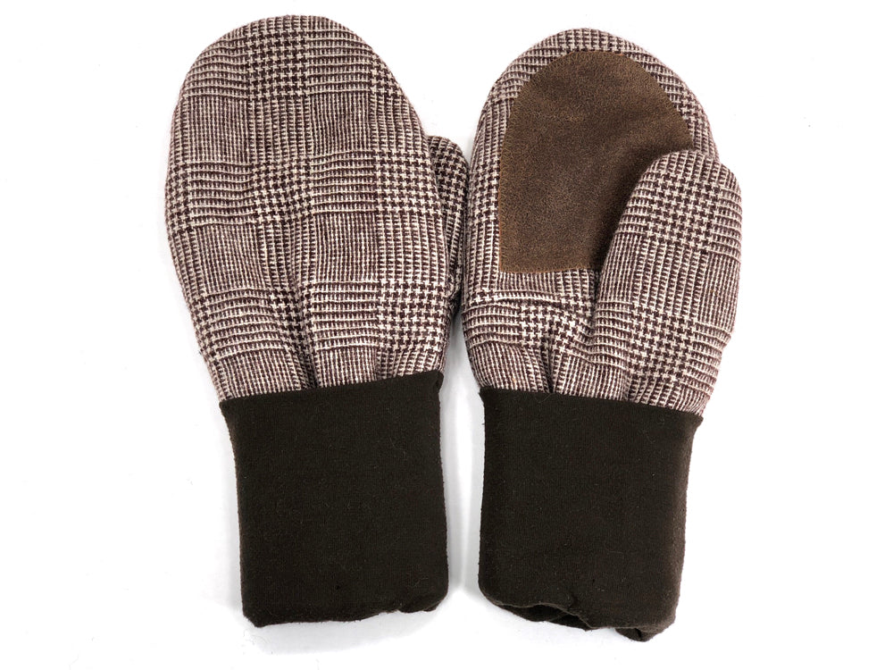 Brown Men's Wool Driver's Mittens - Large - 1974-Mens-The Mitten Company