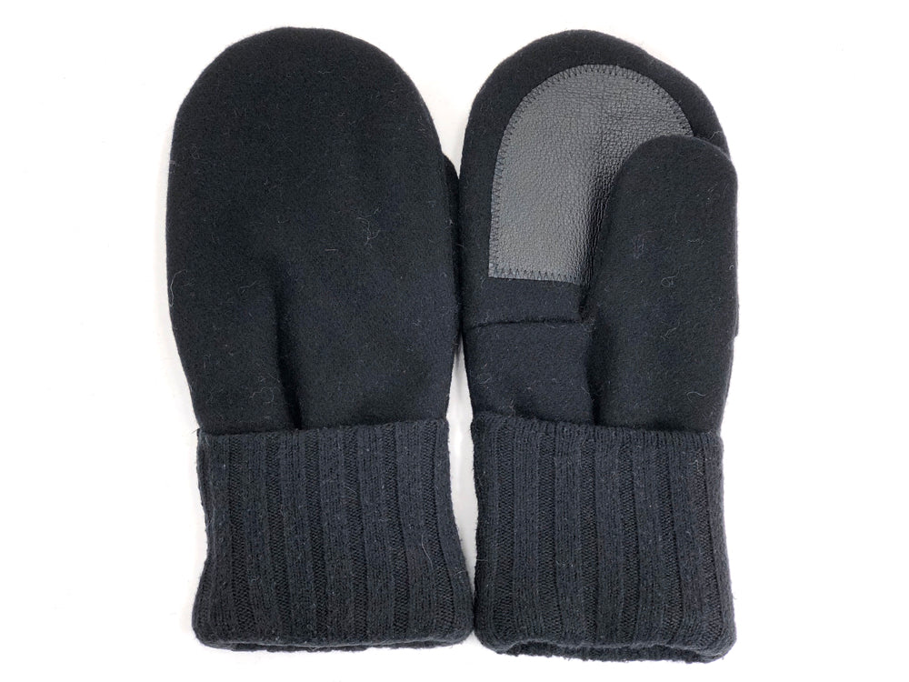 Black Men's Wool Driver's Mittens - Large - 1978 - The Mitten Company