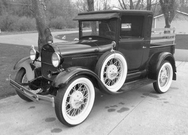 1928-1931 Ford Model A Undrilled BedWood®