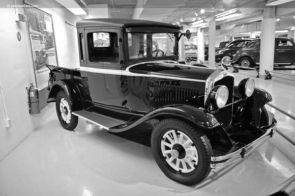 1929-1932 Dodge Short Stepside Drilled BedWood®