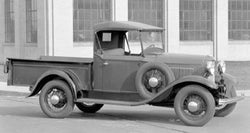 1932 Ford Model B Drilled BedWood®