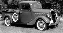 1935-1936 Ford Model 67 Undrilled BedWood®