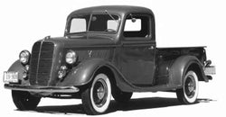 1937 Ford Deluxe 1/2 Ton Undrilled BedWood®