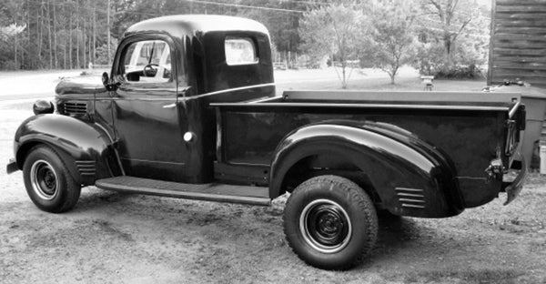 1939-1947 Dodge Long Stepside Drilled BedWood®