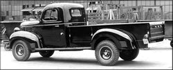 1937-1942 Dodge 1 Ton Stepside Drilled BedWood®