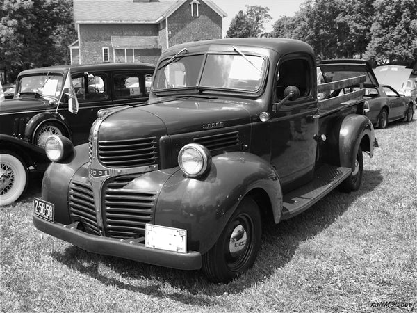1939-1947 Dodge Short Stepside Undrilled BedWood®