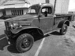 1941-1945 Dodge Military Stepside Drilled BedWood®