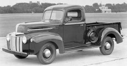 1938-1947 Ford Short Flareside Drilled BedWood®