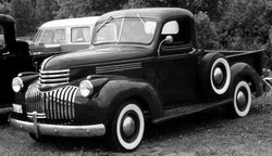 1940-1946 Chevrolet Long Stepside Drilled BedWood®