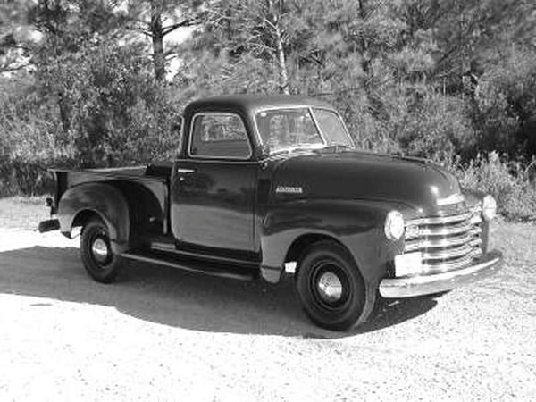 1947-1951 1st Chevrolet/GMC Long Stepside Drilled BedWood®