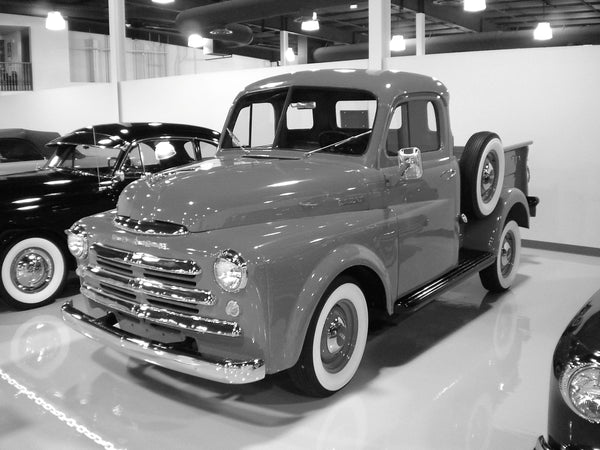 1948-1949 Dodge Highside Short Stepside Drilled BedWood®