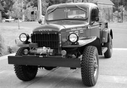 1957-1968 Dodge Powerwagon/1 Ton Drilled BedWood®