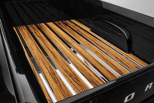 1953-1972 Ford Long Flareside Undrilled BedWood®