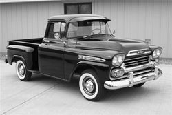 1954-1959 Chevrolet/GMC Short Stepside Drilled BedWood®