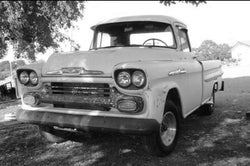 1958-1959 Chevrolet/GMC Long Fleetside Drilled BedWood®