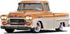 1958-1959 Chevrolet/GMC Short Fleetside Complete BedWood® Kits