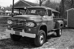 1953-1956 Dodge Powerwagon Undrilled BedWood®