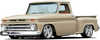 1960-1966 Chevrolet/GMC Short Stepside Undrilled BedWood®