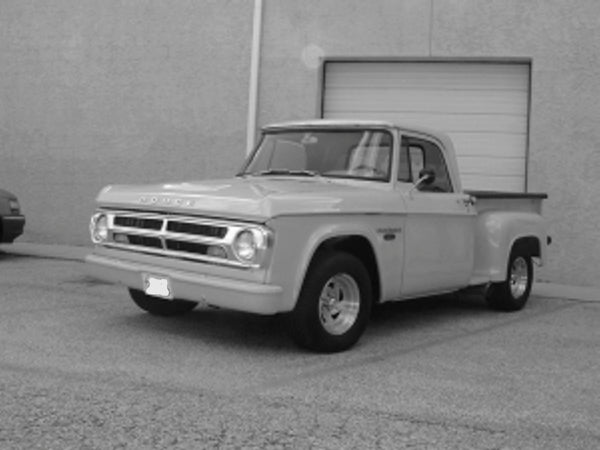 1965 2nd -1971 Dodge Short Stepside Complete BedWood® Kits