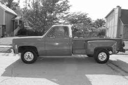 1973-1987 Chevrolet Long Stepside Drilled BedWood®