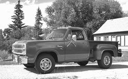 1960-1985 Dodge Short Stepside Undrilled BedWood®