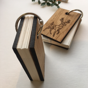 Tiny Handmade Pocket Notebook