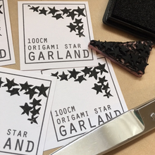 Load image into Gallery viewer, Origami Star Garland