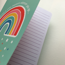 Load image into Gallery viewer, Rainbow Spread a little Happiness Notebook