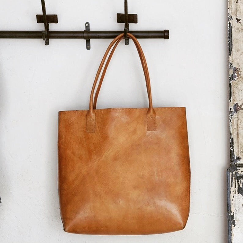 Kharan Leather Shopper