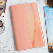 Load image into Gallery viewer, Iridescent Wallet in Coral Pink