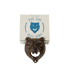 Load image into Gallery viewer, Bear Head Bottle Opener - The Munro