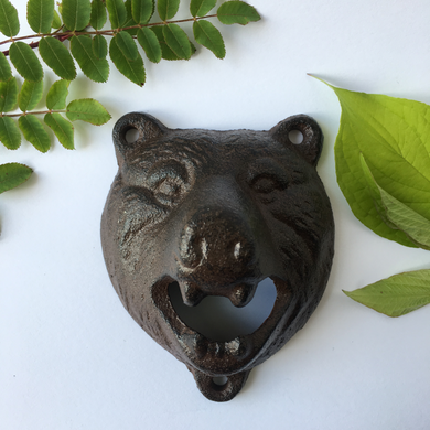 Bear Head Bottle Opener - The Munro
