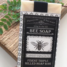 Load image into Gallery viewer, Traditional Bee Triple Milled Soap on a Rope Bar - The Munro