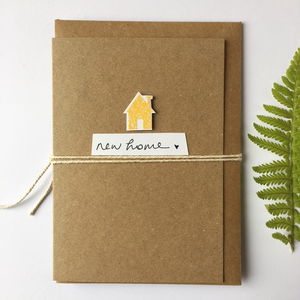 Handmade New Home Greetings Card - The Munro