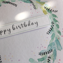 Load image into Gallery viewer, Handmade Watercolour Greetings Card