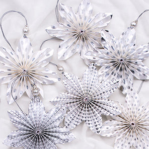 Handcrafted Paper Hanging Decorations