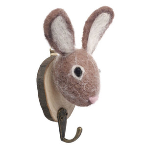 Felted Rabbit Hook