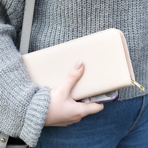 Large Zip Around Wallet Purse
