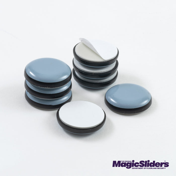 1 in. (25mm) Round, Self-Adhesive, 8-pack