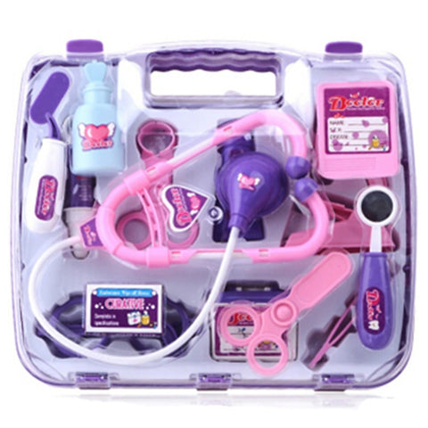 Medical Kit Pretend Play Pretend Professions & Role Playing Doctor Plastics Kid's Boys' Girls' Toy Gift